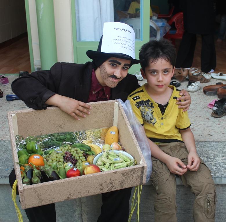 غرفه فروش میوه