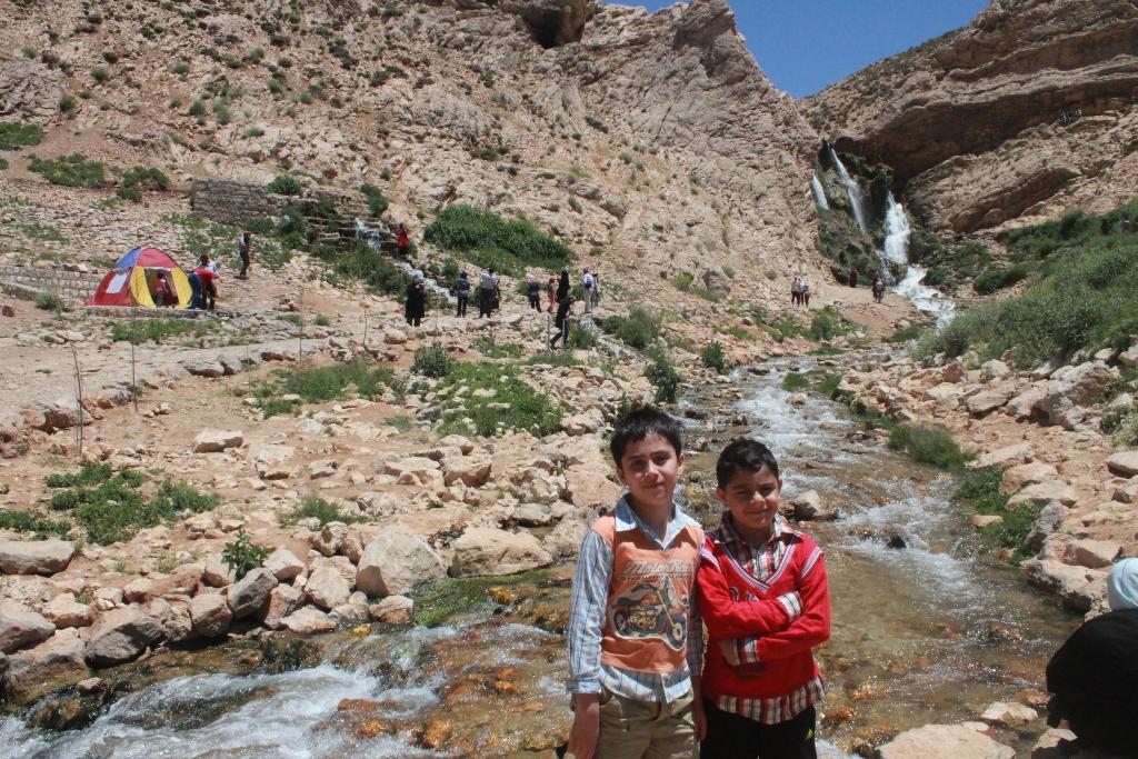 آبشار شیخ علیخان کوهرنگ